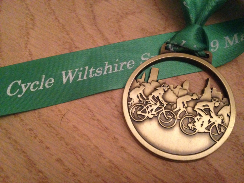 Pedal to the medal